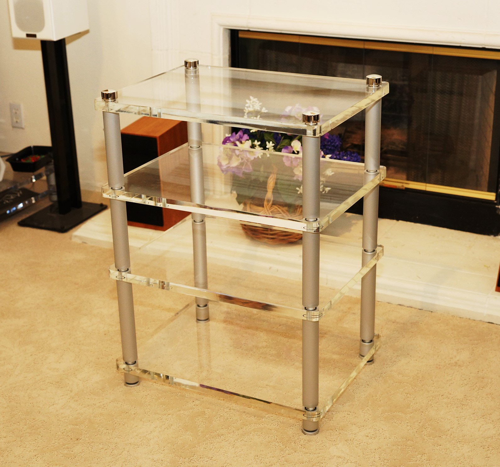 Acoustic Clear Equipment Rack <br/> 3200